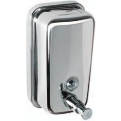 Dispensador de jabon pared inox