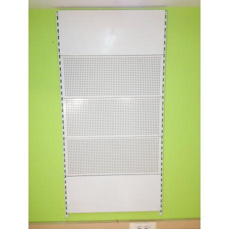 Estantería Cremallera pared panel fondo perforado